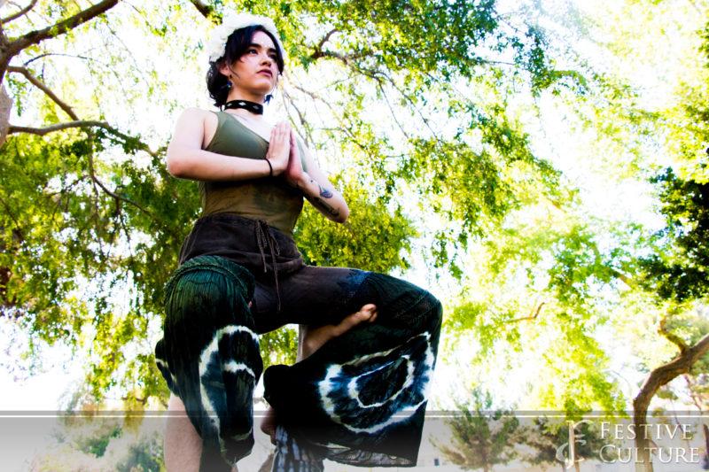 Green Chakra Photoshoot
